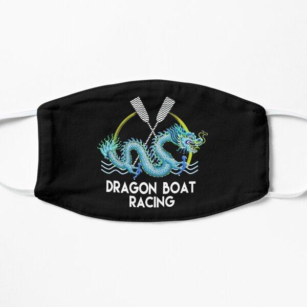 Blue Dragon Boat Racing Mask