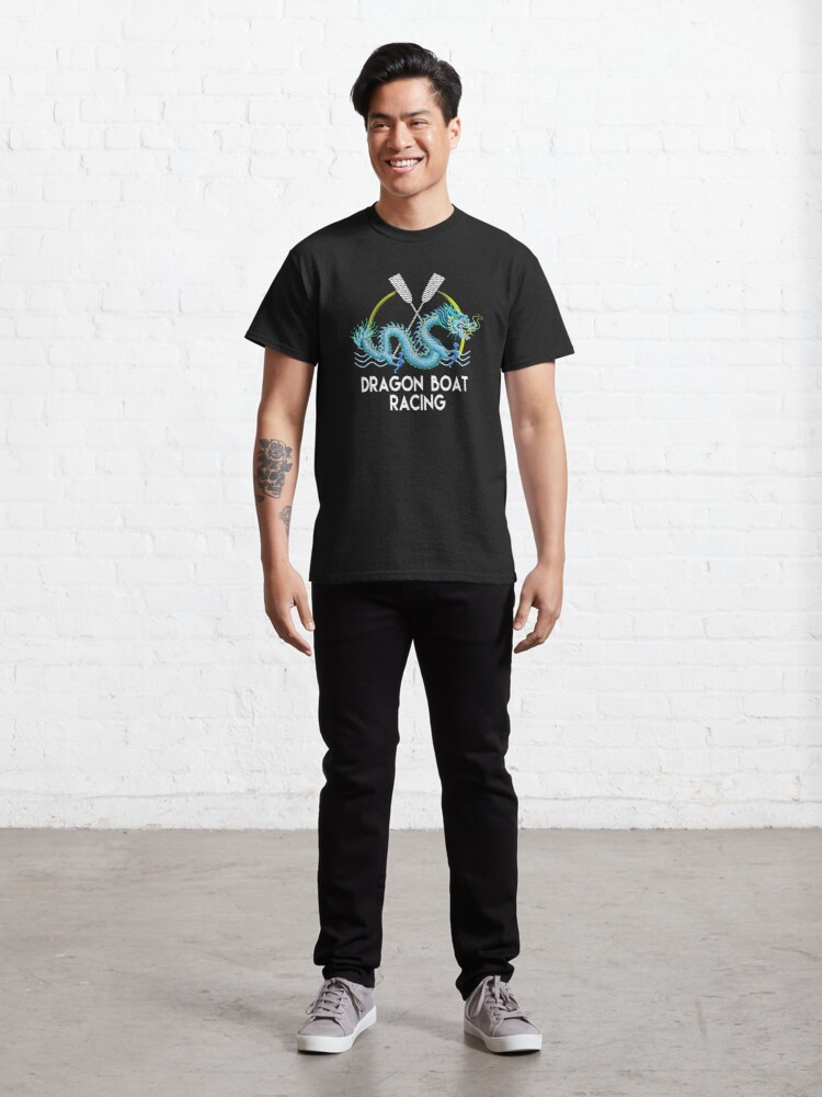 Alternate view of Blue Dragon Boat Racing Classic T-Shirt