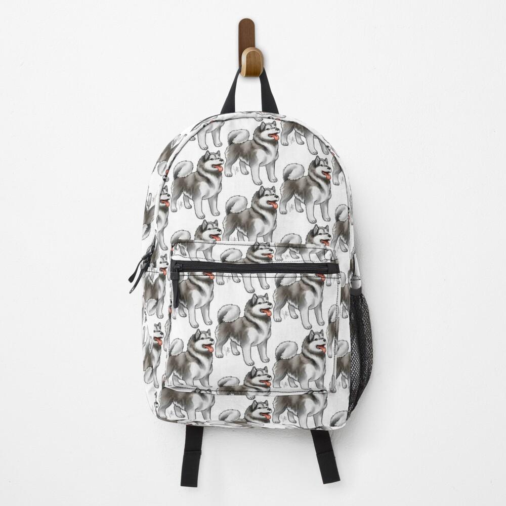Alaskan Malamute Backpack