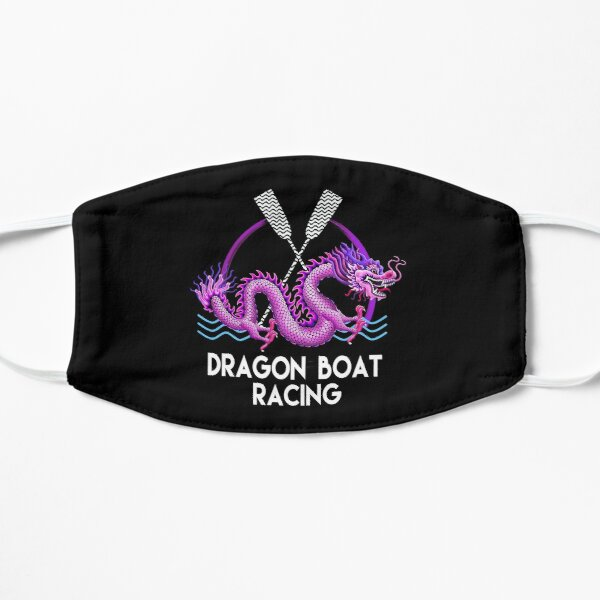 Pink Dragon Boat Racing Mask