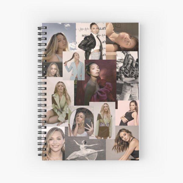 Maddie Ziegler beautiful collage  Spiral Notebook