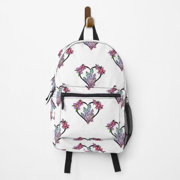 Crystal heart Backpack