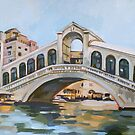 Rialto Bridge by Filip Mihail