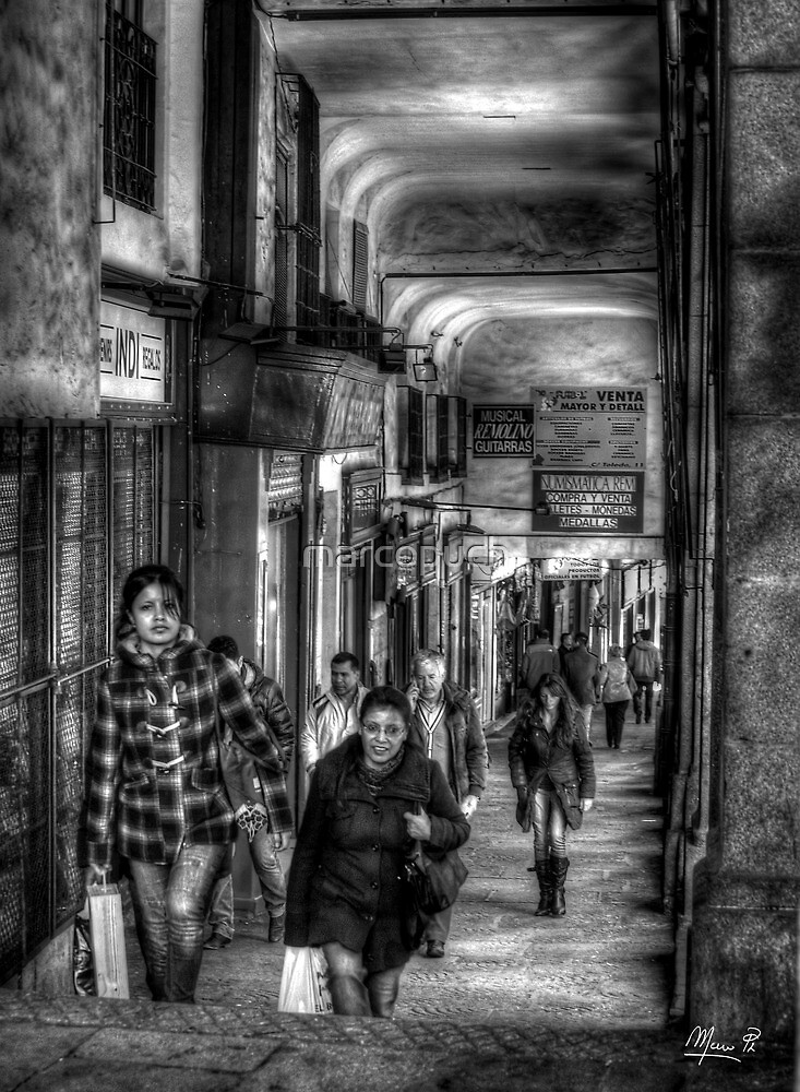 Life in Madrid by marcopuch