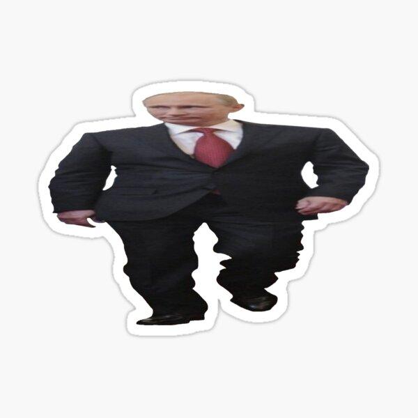 Wide Putin in OK Quality Sticker