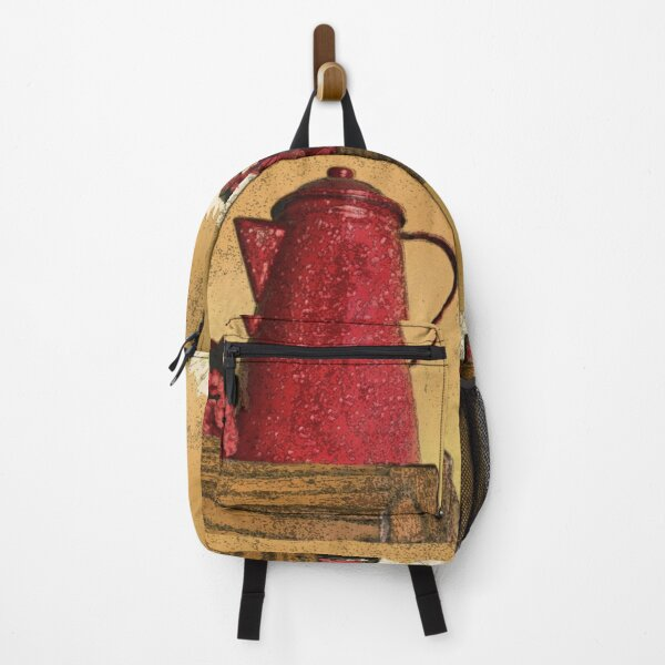 The Red Coffee Pot Backpack