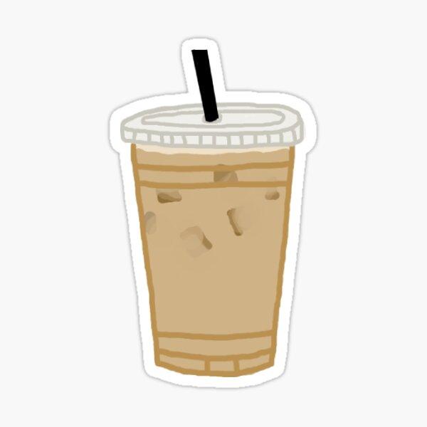 iced coffee sticker Sticker