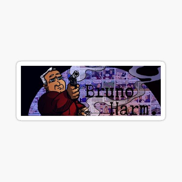 Bruno Harm, spotlight Sticker