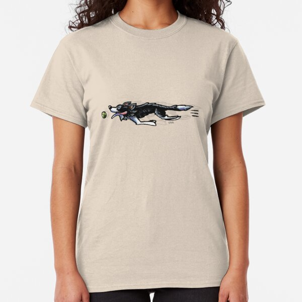 Border Collie in Action Classic T-Shirt