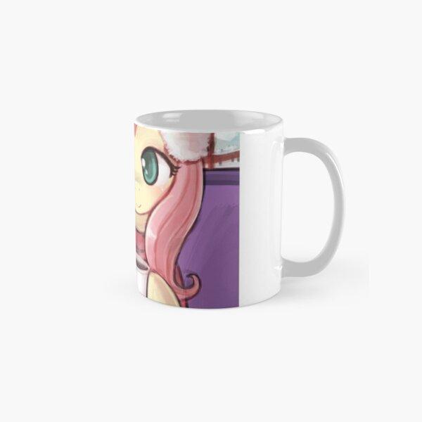 Sharing a warm drink Classic Mug