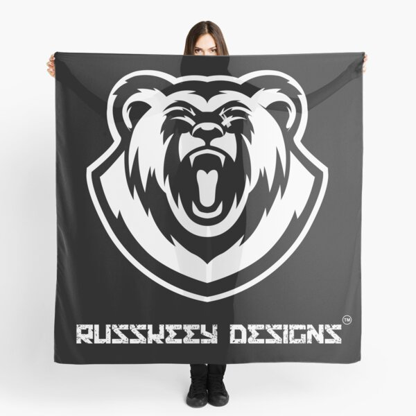 Russkeey Designs Logo (White) Scarf