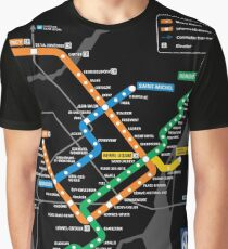 STM Montreal Metro Graphic T-Shirt