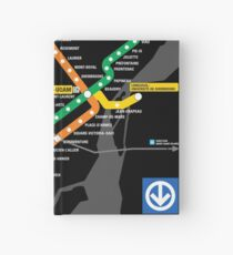 STM Montreal Metro Hardcover Journal