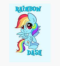 My Little Pony: Rainbow Dash Photographic Print