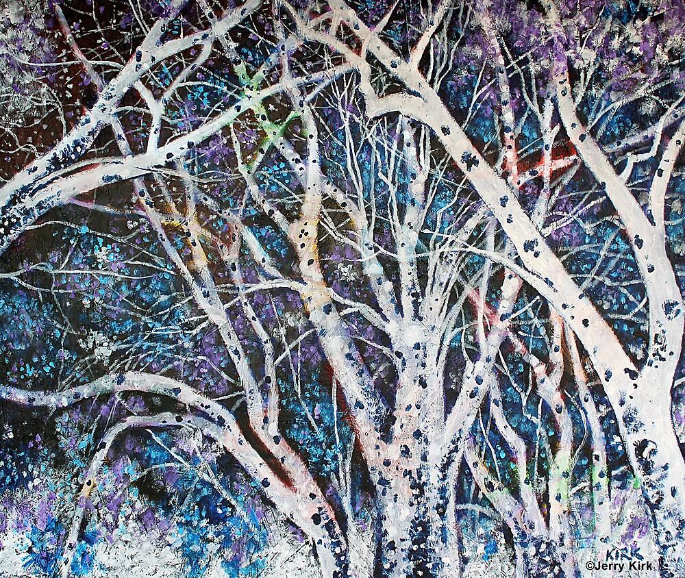 'ILLUMINATED TREES'  by Jerry Kirk