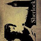 Sherlock Holmes - Ipad Case by dgoring