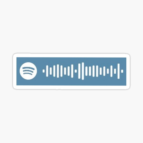 FLY ME TO THE MOON - FRANK SINATRA Spotify Code Sticker