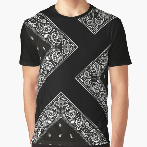 Bandana on Point Graphic T-Shirt