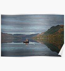 Loch Duich, West Coast of Scotland. Poster