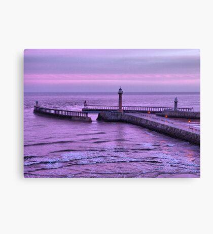 Sunrise over Whitby Canvas Print
