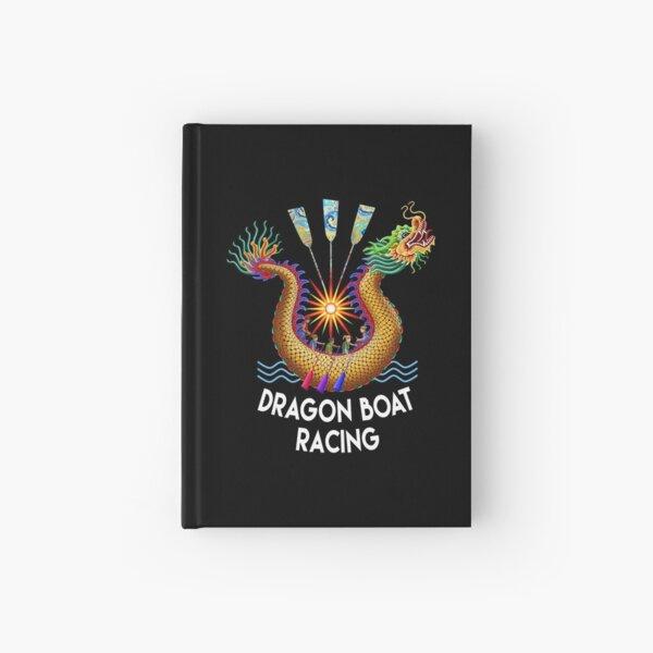 Dragon Boat Racing Logo Hardcover Journal