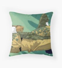 The Ground is my Ocean Part Five Throw Pillow