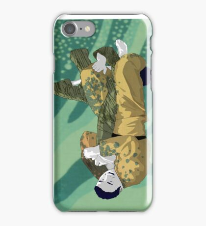 The Ground is my Ocean Part Five iPhone Case/Skin