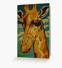 Geoffrey Giraffe Greeting Card
