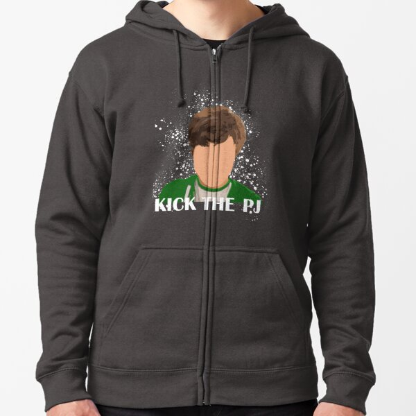 Kick The PJ Tee Zipped Hoodie