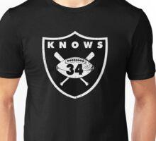 """VICTRS """"34 Knows""""  Unisex T-Shirt"""