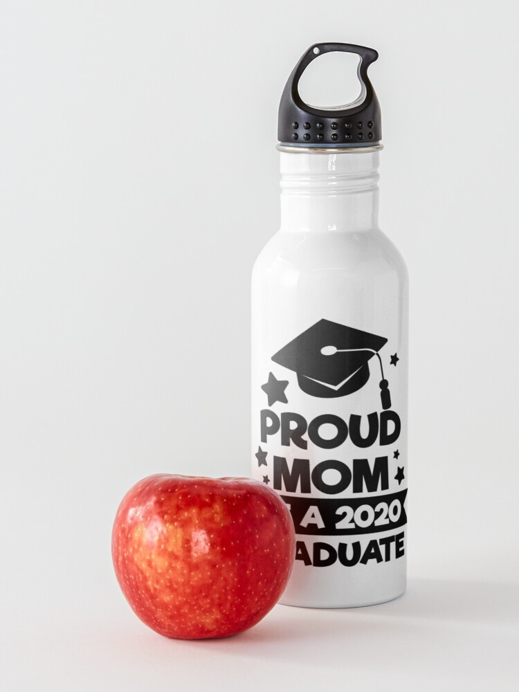 Alternate view of Proud Mom of a 2020 Graduate Water Bottle