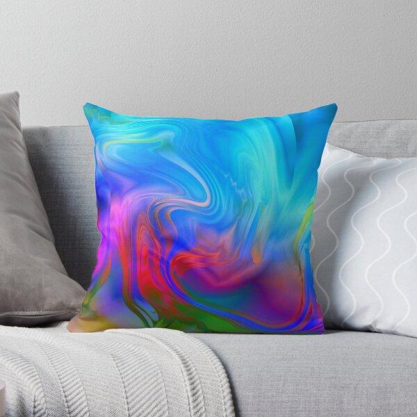OCEAN COLOUR SCENE Throw Pillow
