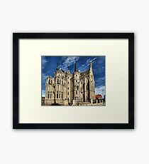 Episcopal Palace of Astorga, Gaudi Framed Print