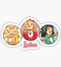 heather, heather and heather Sticker