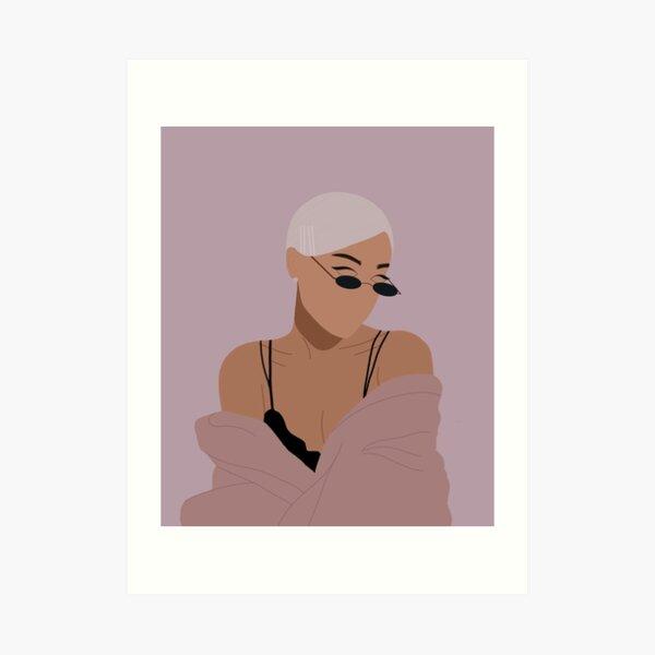 Ariana illustration  Art Print