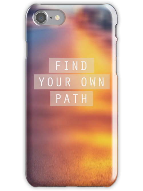 Find Your Own Path by sandra arduini
