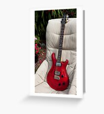 PRS SE22 Greeting Card