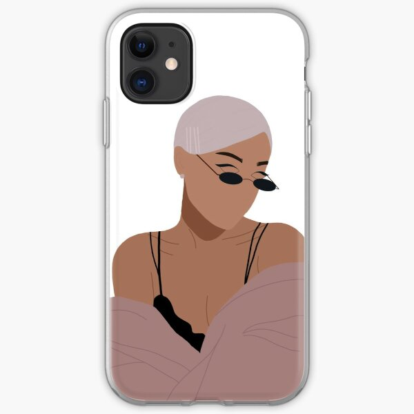 Ariana illustration  iPhone Soft Case