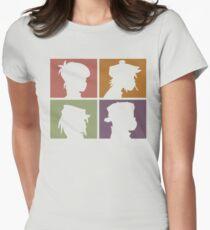 Gorillaz - Demon Days (Silhouette) Womens Fitted T-Shirt