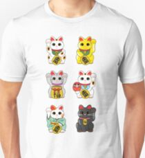 Lucky Cat / Maneki Neko Unisex T-Shirt