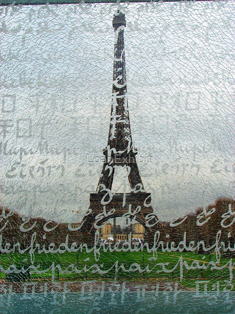Eiffel behind the screen by LoanExhibit