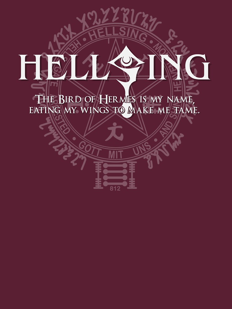 Hellsing - T-Shirt / Phone case / More 1 | Unisex T-Shirt