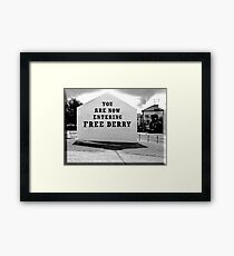 free derry wall Framed Print