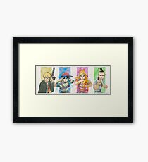 Earthbound! Framed Print