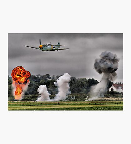 Airfield Attack - Shoreham 2012 Photographic Print