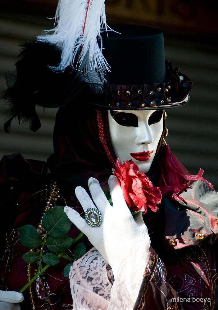 venice carnival by milena boeva