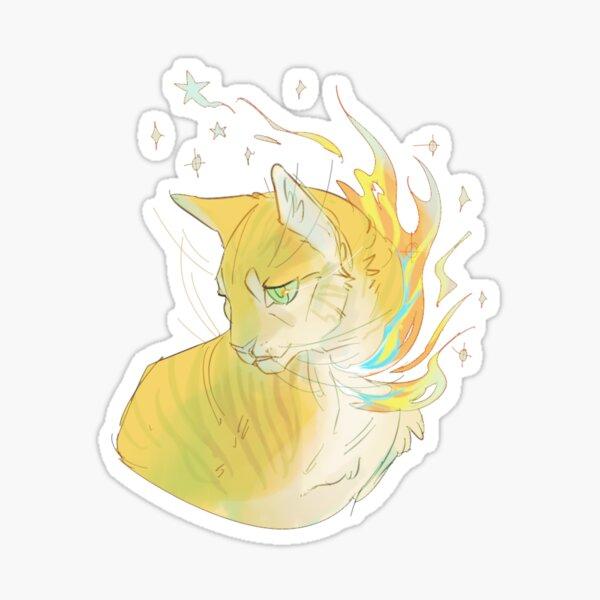 Firestar Sticker