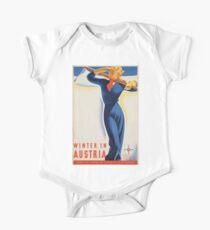Vintage poster - Austria Kids Clothes