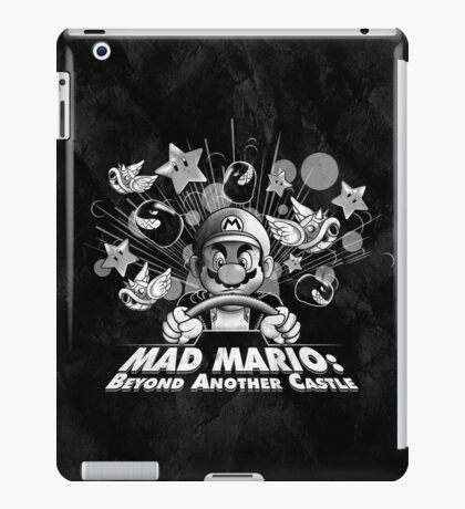 Mad Mario: Beyond Another Castle iPad Case/Skin