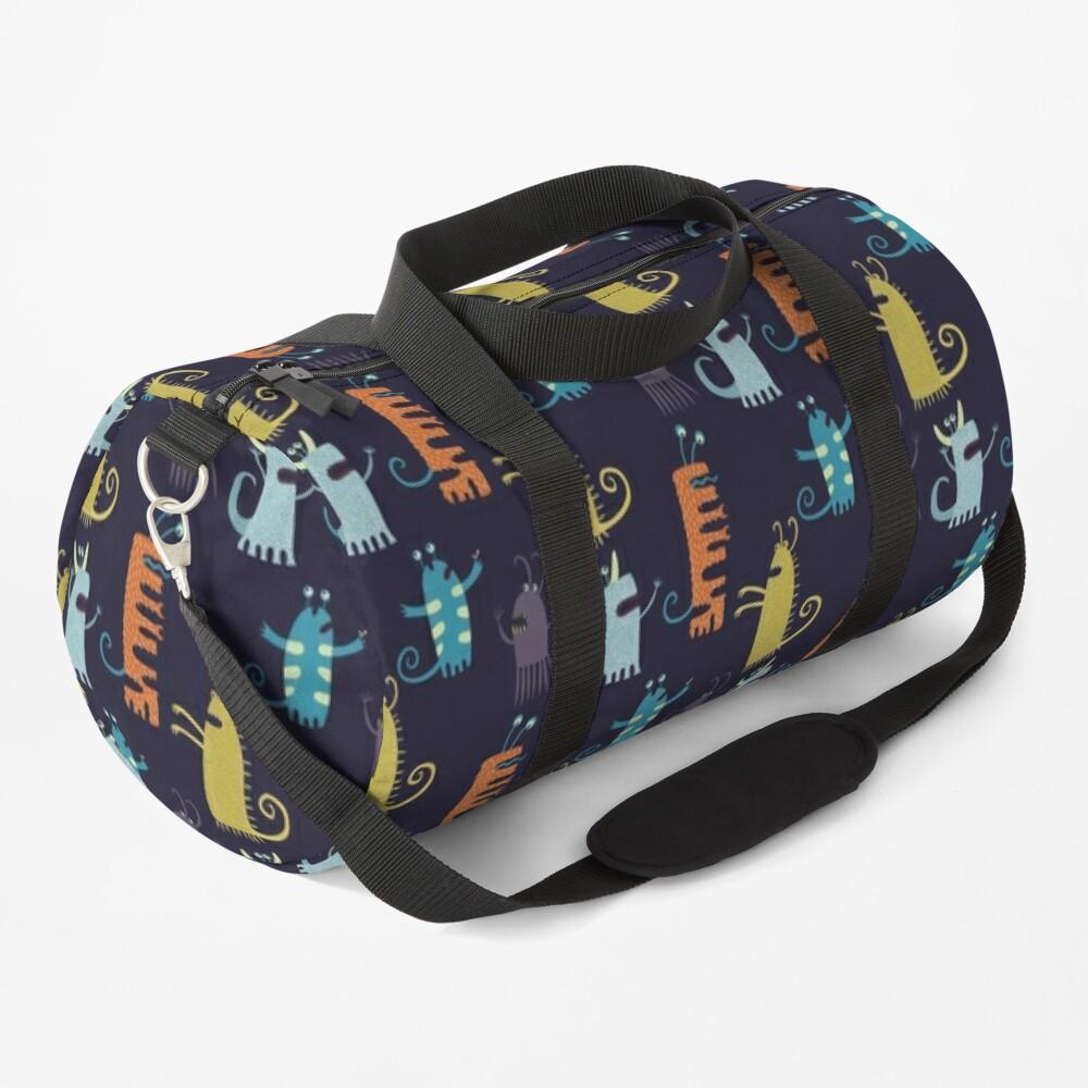Secretly Vegetarian Monsters Duffle Bag